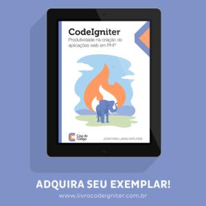 Livro CodeIgniter